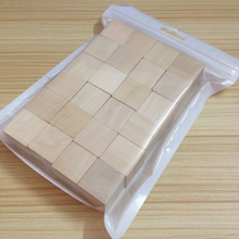 24 stücke verpackt Unfinished Holz <span class=keywords><strong>Blöcke</strong></span>, 1 zoll Holzblöcke Cube für DIY Kinder <span class=keywords><strong>Blöcke</strong></span>
