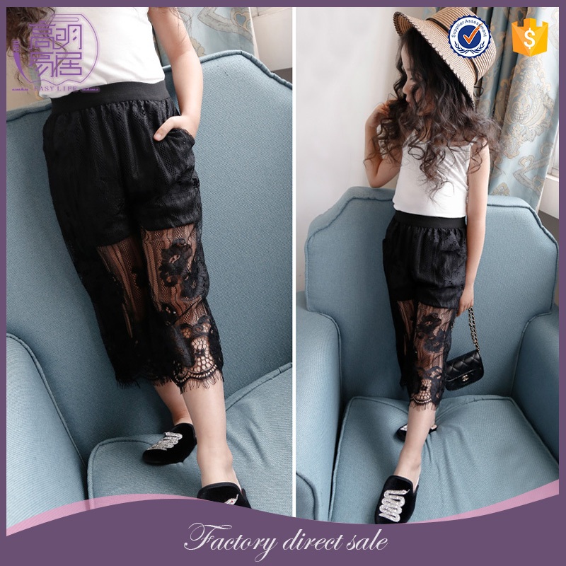 Boutique Kids Clothing Wholesale Children Pretty Girl Fancy Lace Pants