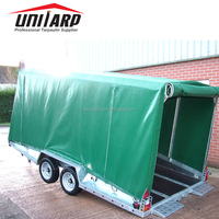 pvc tarpaulin trailer covers,trailer cage cover