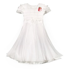 849 White Haolaiyuan Promotional top quality baby girl tutu dress patterns