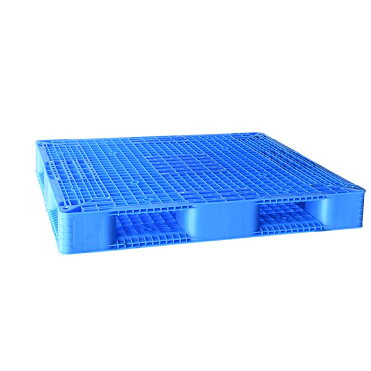 Heavy duty double sides euro HDPE large stackable reversible plastic pallet
