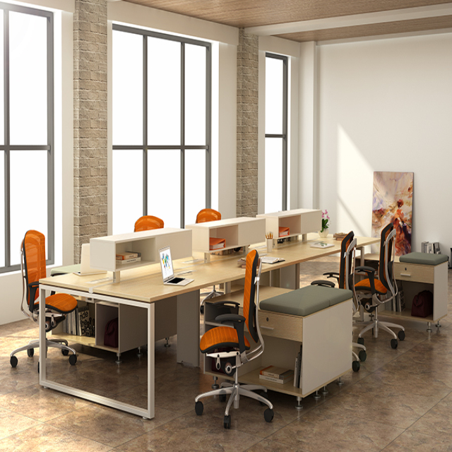 6 person office desk dividers