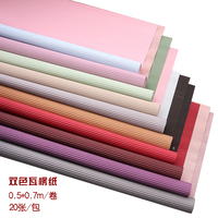 High quality flower wrapping colorful corrugated flower crepe paper for packaging