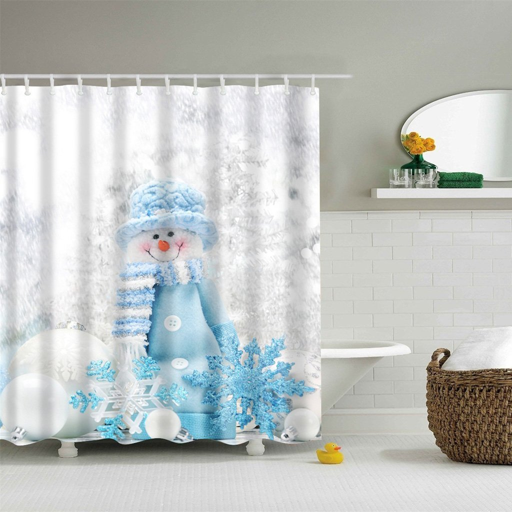 Cheap Snowflake Shower Curtain, find Snowflake Shower Curtain deals ...