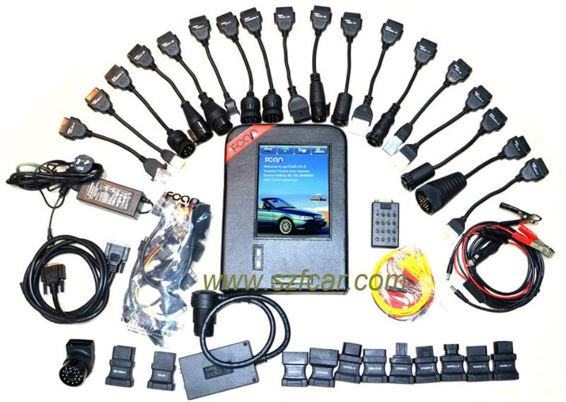 FCAR F3G automotive diagnostic scanner ECU programming special functions universal code reader