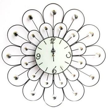 Fashion Wall Clock Modern Style Wall,Metal Clock Art Acrylic ...