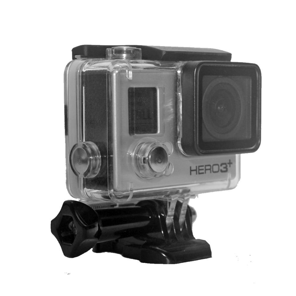 Free Shipping GoPro Hero3+/Hero3 60M Waterproof  Diving Housing Skeleton