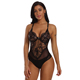 Hot Transparent Erotic Sheer Mesh Lace Cupped Babydoll Women Sexy Teddy Lingerie