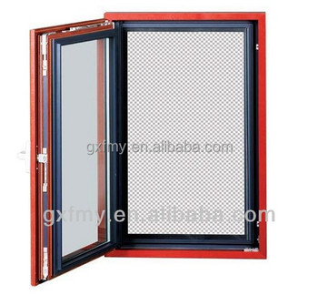 As2047 Aluminum Composite Wood Casement Windows Aluminum