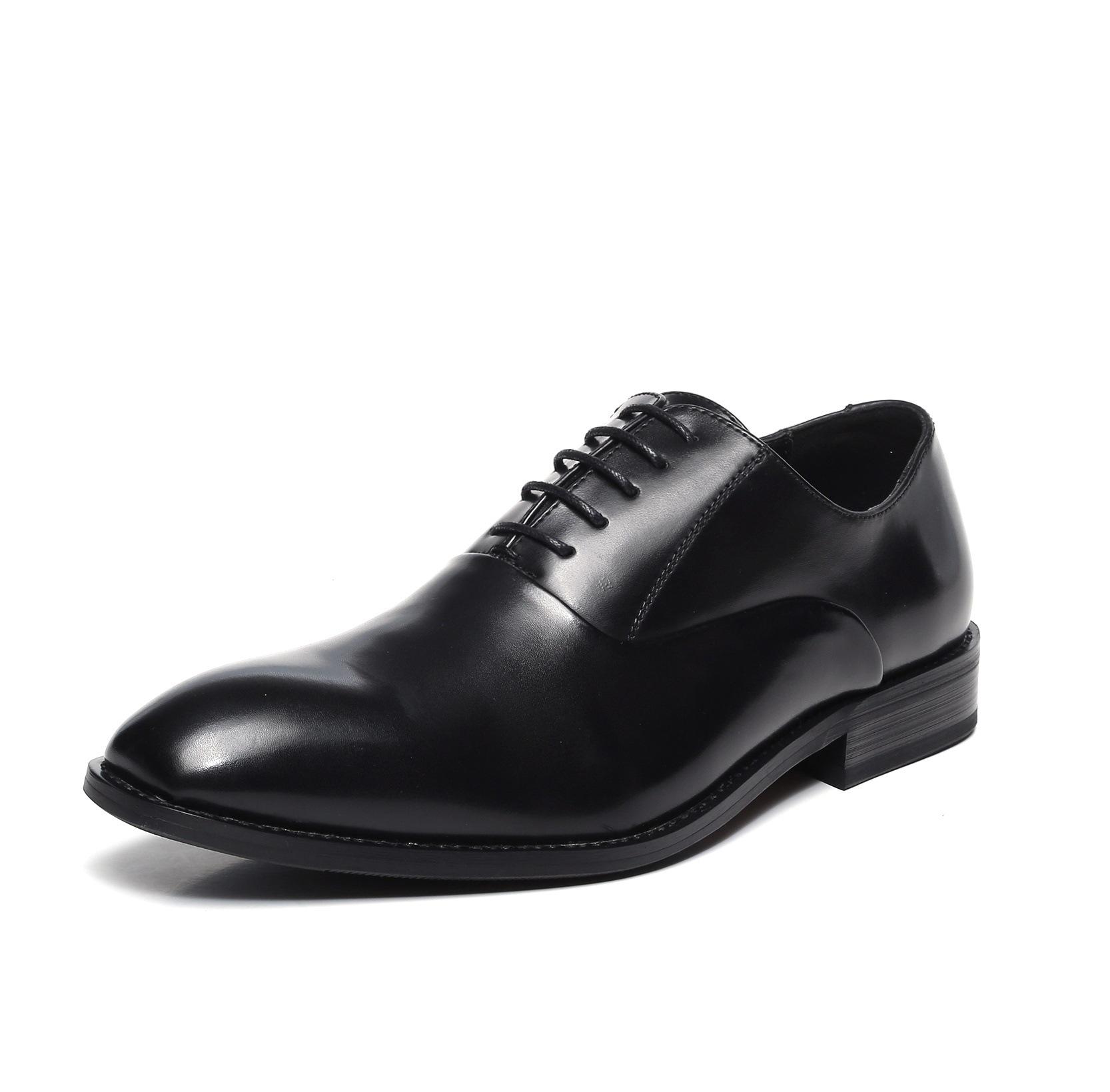 Stealth erhöhen die höhe 6 cm komfortable slip-on design ordentlich nähen atmungs echtem leder futter männer aufzug kleid schuhe