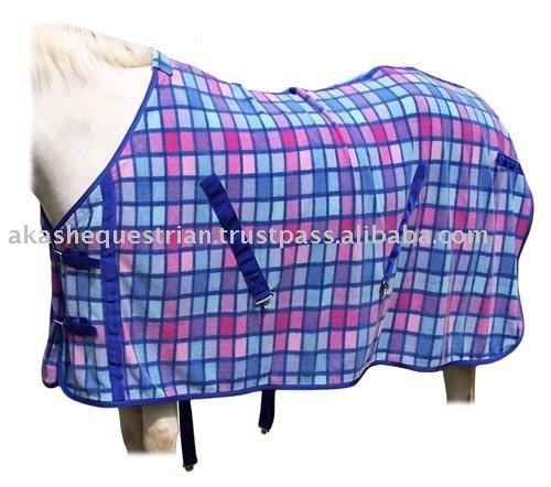 colorful Fleece Horse rugs