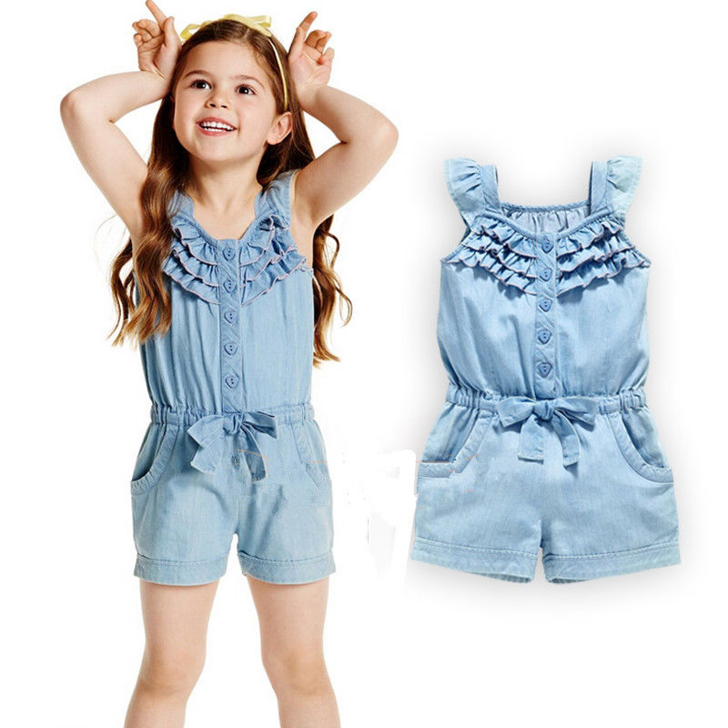 1efc0bd7e Detail Feedback Questions about summer 2016 girls denim overalls for ...