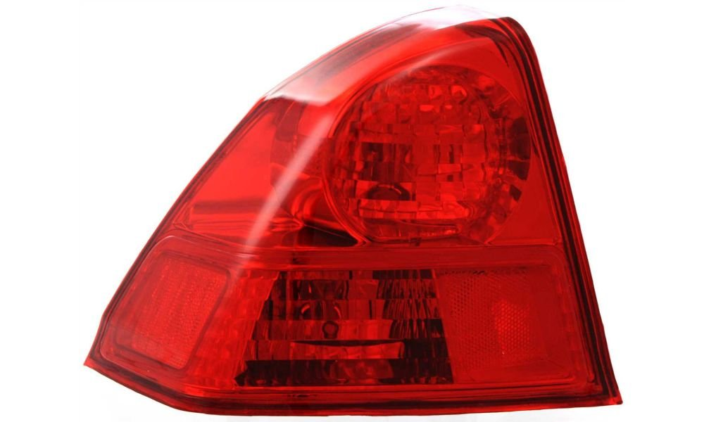 Evan-Fischer EVA15672026268 Tail Light for Honda Civic 03-05 LH Outer Assembly USA/Canada Built Sedan Left Side Replaces Partslink# HO2800153