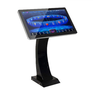 Open frame HD 19 inch touch screen monitor for kiosk Kalaok Karaoke with music system