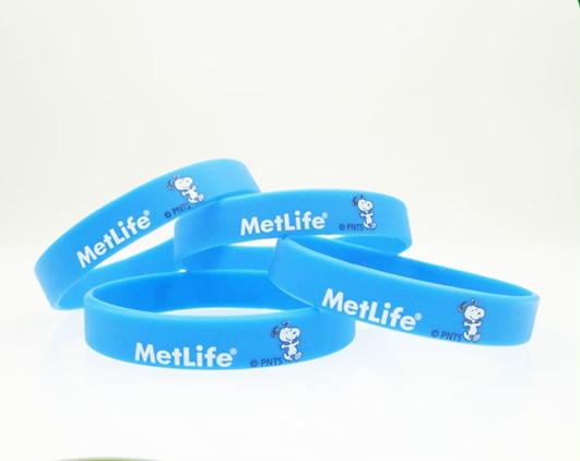 Promotional gifts custom logo printed cheap eco-friendly fashion silicon bracelet hand band