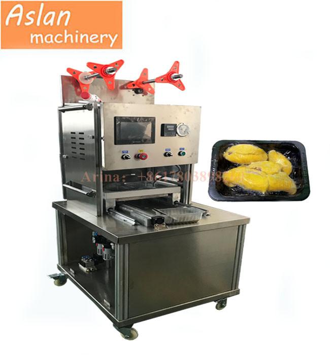 050d0db6cd4 MAP Tray vacuum sealer  cooked fish box vacuum gas flushing sealing machine   sea food tray vacuum sealing machine