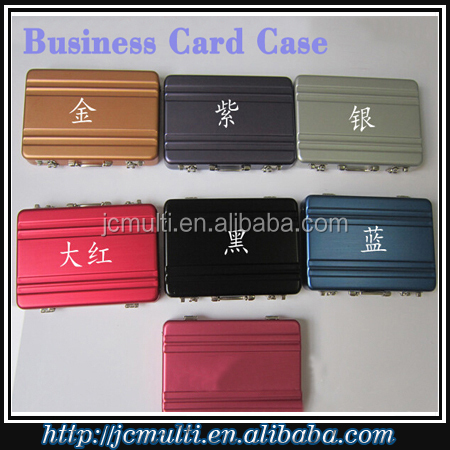 high quality fashionable gift business card case for men