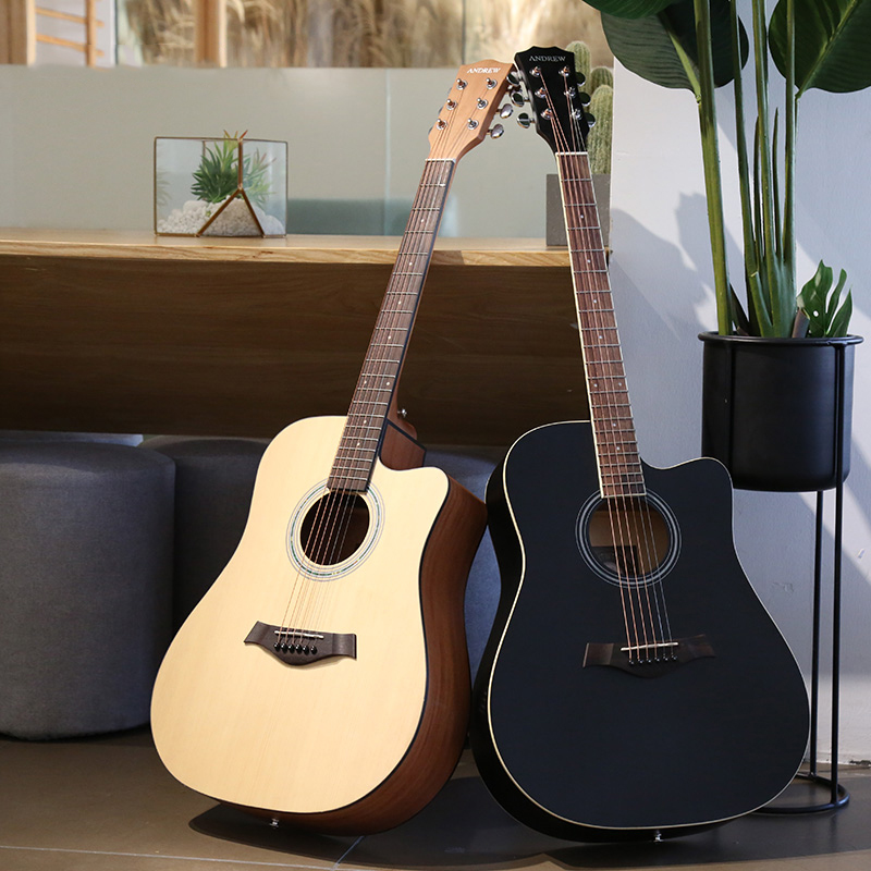 HOT sell 41 inches original factory manual instrument acoustic guitar, N/a