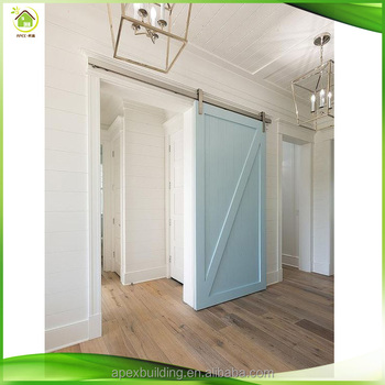 Modern White Color Barn Sliding Door Hardware For Cabinets