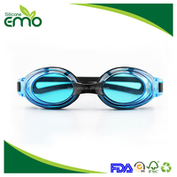 Customized Cheap Novelty Safety Best Swimming Goggles With Case