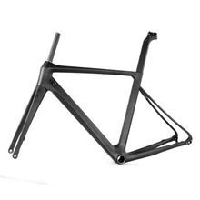2017 Light carbon 700C road bike frames chinese carbon bicycle disc brake road frame LCR004-D Best performance