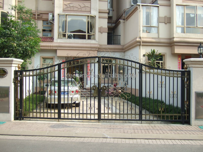 Simple Steel Gate Design For Villa New Iron Grill Designs Product On Alibaba