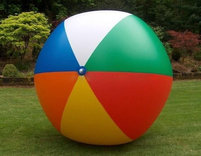 Manufacturer Inflatable Glow Beach Ball Product On Alibaba