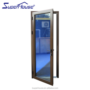 superhouse aluminium one way glass door with America csa nfrc dade standard