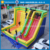 factory price giant home water bouncer kids inflatable slip and slide rental