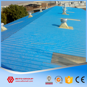 Building material 40G zinc coating hot dipped galvanized corrugated metal roofing