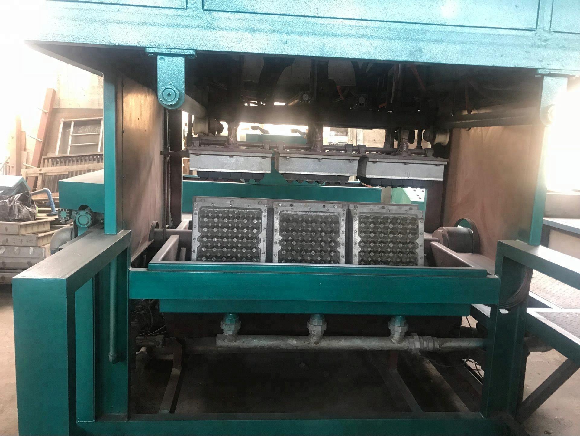 Автоматическая машина для изготовления яичных лотков с сушкой кирпича