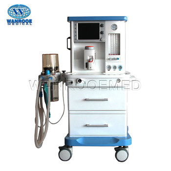 S6100A Portable Medical ICU Anesthesia Machine With Ventilator For Adults And Children