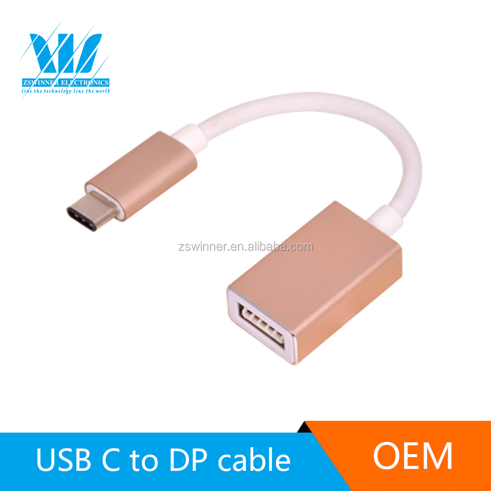 Fast Charge Data USB Type-C to HDMI OTG Cable for tablet pc mouse keyboard or U disk