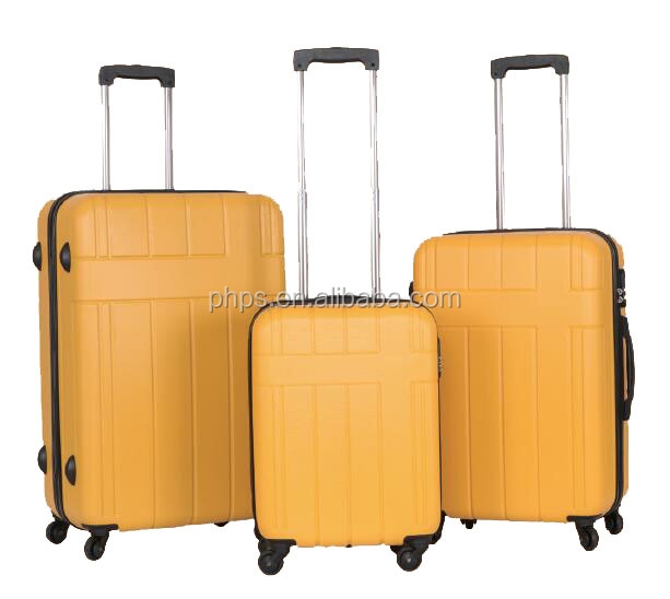 SPINNER WHEEL ABS TROLLEY LUGGAGE WITH ALU. TROLLEY