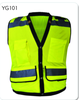2016 new mesh fabric reflective safety vest