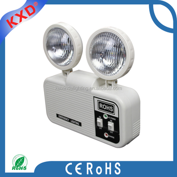 2x3w wall mount fire automatic led emergency light buy - Exterior light with battery backup ...