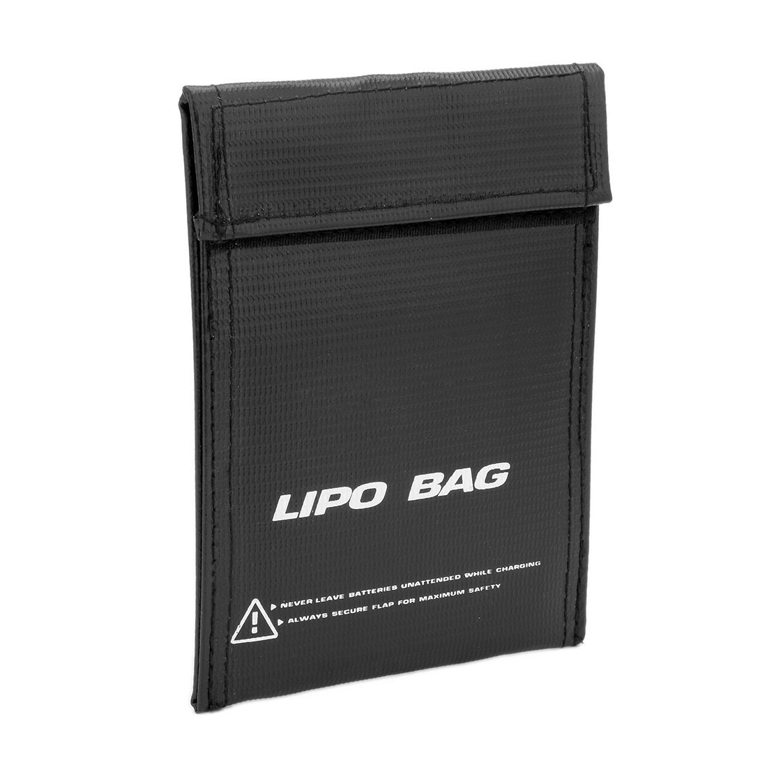 uxcell Fireproof RC Lipo Battery Storage Charging Safe Bag Pouch Sack Lipo Battery Guard 150mmx110mm Small Black