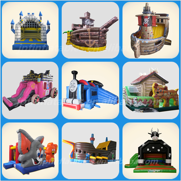 Amusement park party used snow globe inflatable bounce house/ inflatable jumping bouncy house for kids