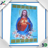 2015 New design 3D lenticular calendar,3D plastic poster for home decoration