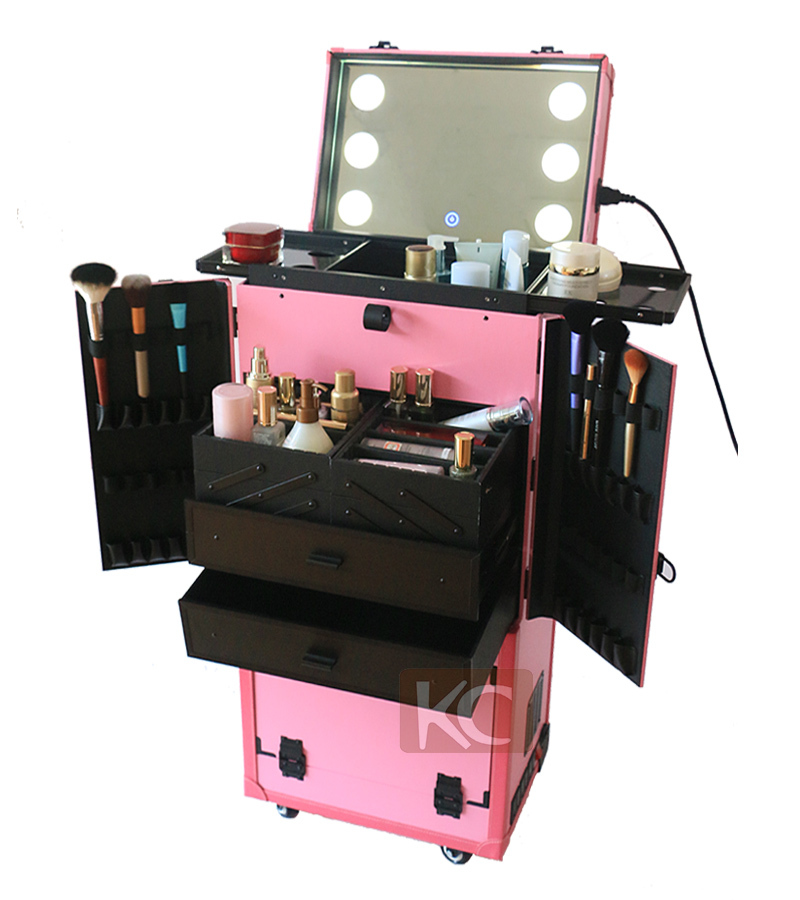Multifuncional Professional Modern Mobile Hairdressing Hair Salon Styling Stations