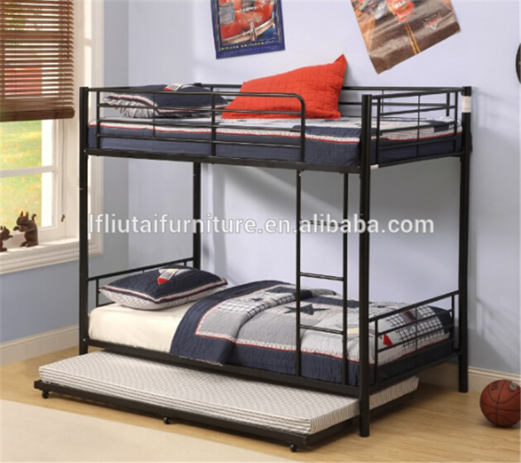 Hot Sale Metal Bunk Bed With Trundle Buy Bunk Bed With Trundle