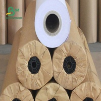 Good Stiiffness White Textile Plotter Paper Roll with 50M 100M 150M Length