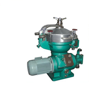 High efficiency heavy oil disc stack centrifuge separator