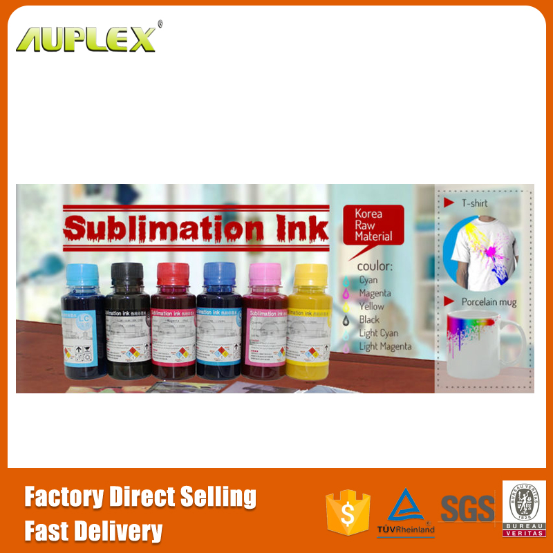 Korea raw material top sublimation ink promotion sublimation ink for epson
