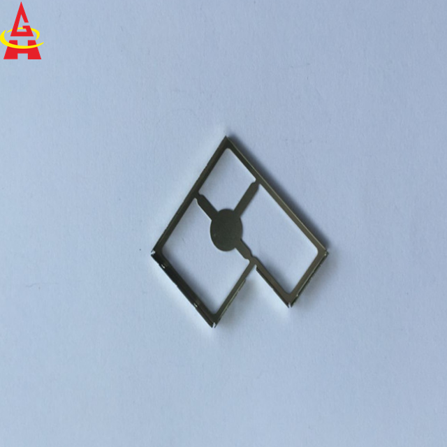 Hardware item precise progressive stamping metal EMI RFI shied cover in tray