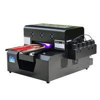Top selling Sapphire Jet a4 digital flatbed uv printer