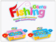 2017 newest popular kid fishing kid fishing toy set, battery operated fishing game toys