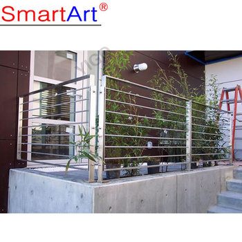 Professional Inox/stainless Steel Outdoor Balcony Railing Design/glass  Balcony System With Low Price