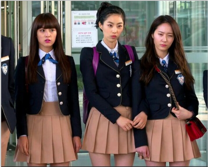 New EnglandBritish College Style Students Wear Korean Suit