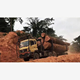 Dongfeng 6X4 dumper logging timber wood transport truck